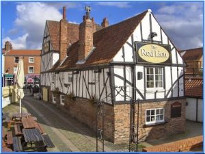 Red lion pub in merchantgate in York hosts WorkwithSchools teachers social in summer 2018