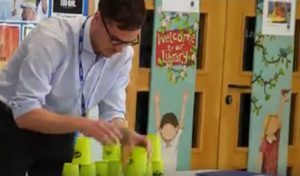 Mr Gardiner, Clifton Green Primary test the teacher