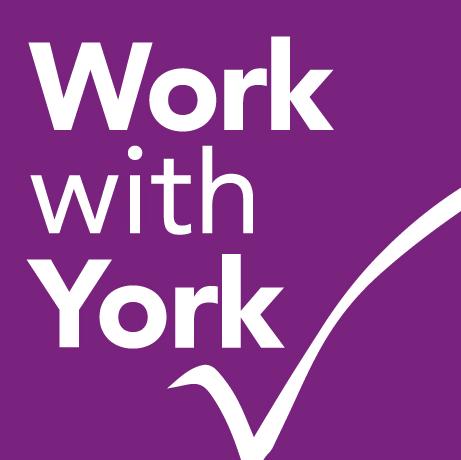 Work with York logo
