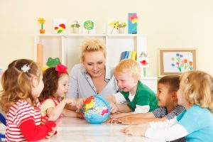 Nursery and Teaching Assistants in an Early Years setting