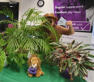 WorkwithSchools' World Earth Day competition with Lion King prize