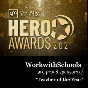 WorkwithSchools sponsors York Mix Hero Awards 2021